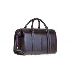 Skórzany kuferek damski, który dostępny jest w kolorze czarnym, ciemnym brązowym, wiśniowym oraz czerwonym. Niewielkich