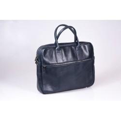 Wyjątkowa skórzana torba na laptopa dla kobiety i mężczyzny (uniseks). Jej charakterystyczna tekstura skóry licowej wyró