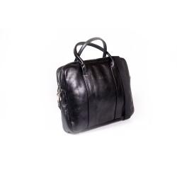 W oryginalnym londyńskim stylu skórzana torba na laptopa. Wykonana z lekko postarzonej skóry naturalnej co powoduje, że
