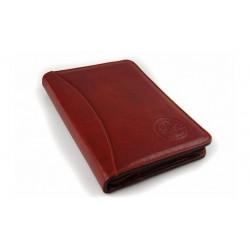Eleganckie i stylowe etui na dokumenty, wizytówki i drobne papiery. Etui skórzane pomieści format A5, idealne na niewiel
