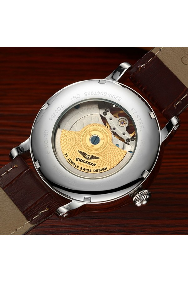 Stylowy zegarek męski, którybędzie idealnym dodatkiem do eleganckiej stylizacji. -