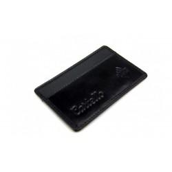 W ochronie Twoich pieniędzy na koncie bankowym przychodzi RFID / ID Protect System skórzane etui na kartę. Eleganckie, c