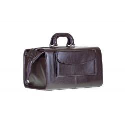 Elegancka i pojemna torba kuferek lekarski w której zmieści się każdy ważny przedmiot, który lekarz powinien mieć przy s