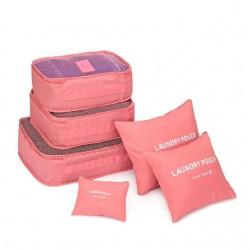 Zestaw kosmetyczek - organizerów do bagażu. -
