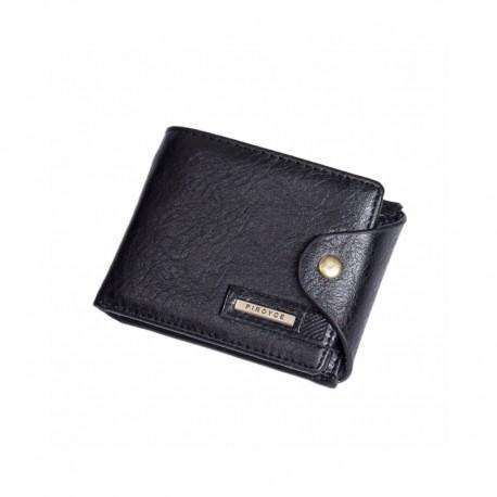 186d73e1316cd Mały wszędzie mieszczący się skórzany portfel męski. -