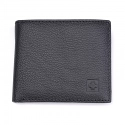 Portfel męski skórzany z technologią ochrony RFID. -