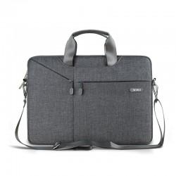 Nowoczesna torba na laptopa wykonana z materiału wodoodpornego. Lekka i wygodna torba męska. -