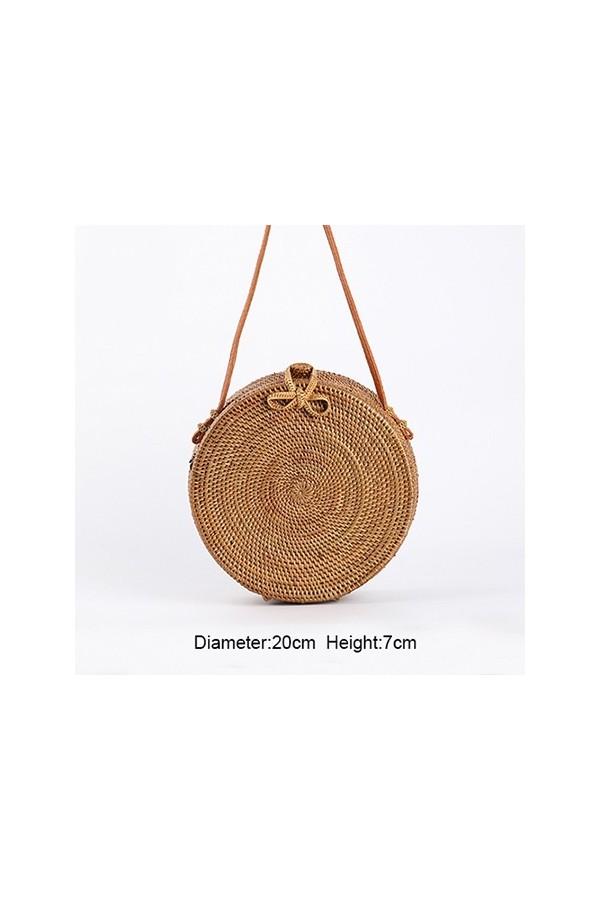 Piękna torebka bali wykonana z wysokogatunkowej słomy. Ręcznie wykonana z dbałością o detale. -