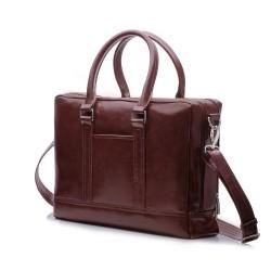 Elegancka, pojemna i nowoczesna - skórzana torba Solier SL02 -