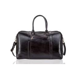 Skórzana męska torba weekendowa. Solidna i bardzo pakowna - idealna na wyjazdy i wyjścia na treningi. Wykonana z włoskie