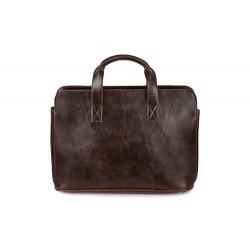 Męska torba na ramię, która świetnie sprawdza się jako środek transportu dla laptopa. -