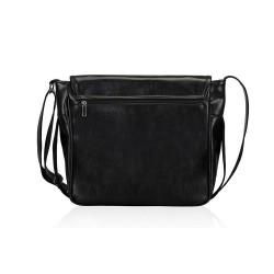 Skórzana męska torba na ramię pojemna S12 - MUST-HAVE podczas studiów czy pracy w biurze. Idealne wymiary pozwalają na p