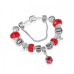 Śliczna bransoletka typu charms -