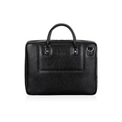 Męska torba na laptopa z skóry naturalnej SL21 - jest męską torbą, która zachwyci Cie swoją solidnością i pojemnością. N