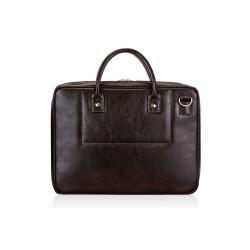 Solidna skórzana męska torba na laptopa SL21 - jest męską torbą, która zachwyci Cie swoją solidnością i pojemnością. Nie
