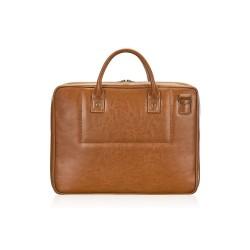 Elegancka skórzana męska torba na laptopa SL21 - jest męską torbą, która zachwyci Cie swoją solidnością i pojemnością. N