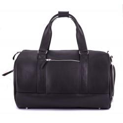 Ekskluzywna skórzana męska torba podróżna SL19 - wykonana z solidnej skóry naturalnej, bardzo pojemna nadająca się w każ