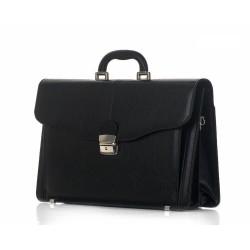 Męska torba aktówka - teczka w stylu vintage to podstawowy element garderoby eleganckiego mężczyzny. Retro styl, włoska
