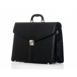 Męska torba aktówka - teczka w klasycznej stylizacji to podstawowy element garderoby dojrzałego mężczyzny. Ponadczasowa