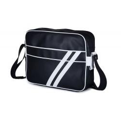 Lekka klasyczna skórzana torba męska na ramię MS1 - czyli wygodne przenoszenie małego laptopa lub tabletu oraz dokumentó