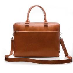 Pojemna i solidna męska torba na laptopa. -