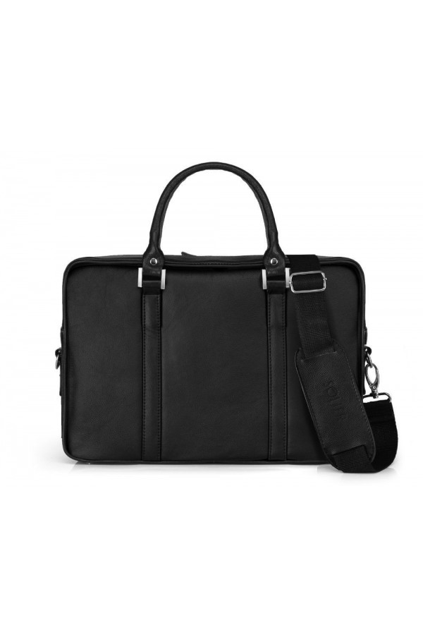 Skórzana męska elegancka torba na laptopa SL25 - czyli funkcjonalna torba, którą musisz posiadać. Wykonana z trwałej skó