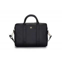 Ekskluzywna damska torba na laptopa Dulce - uniwersalna torba do pracy, na studia czy spotkanie biznesowe. Wykonana z ga