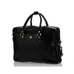 Elegancka i ekskluzywna damska torba na laptopa dostępna w kolorze : granatowym, czarnym i czerwonym. Jeżeli cenisz sobi