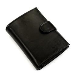 Elegancki i pojemny portfel męski wyróżniający się funkcjonalnością i dobrymi materiałami. Wyprodukowany został w Polsce