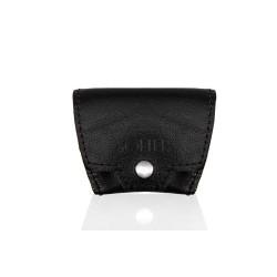 Czarna skórzana bilonówka - portfel na monety SA10 - jeżeli masz już cienki portfel na karty i banknoty to możesz mieć c