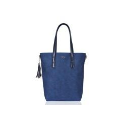Damska torebka shopper worek skórzany ML02to idealny dodatek każdego wyjścia w miasto. Pomieścisz w niej ważne dla Cieb
