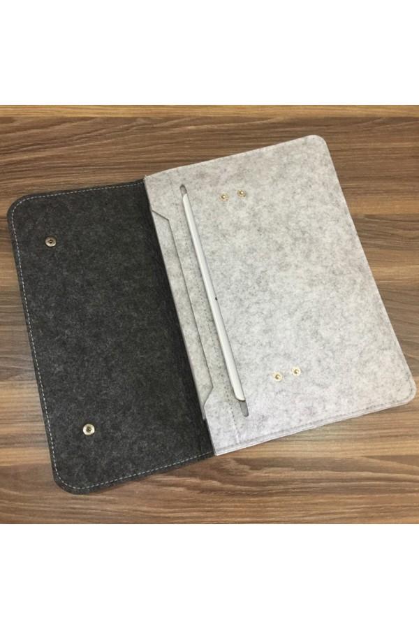 Damska filcowa teczka - torebka - aktówka na tablet lub mały laptop -
