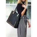 Torba shopper Felice Stella FB36 czarna
