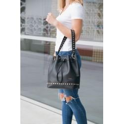 Uniwersalna torebka shopperka damska. -