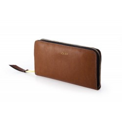 Elegancki i praktyczny portfel damski wykonany z włoskiej skóry naturalnej. Portfel został wykonany z dbałością na najmn