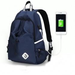 Granatowymęski plecak sportowy, idealny na wycieczkę i długie spacer. Wodoodporny i wytrzymały ochroni Twój laptop o ro