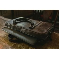 Solidna skórzana torba na laptop SL25