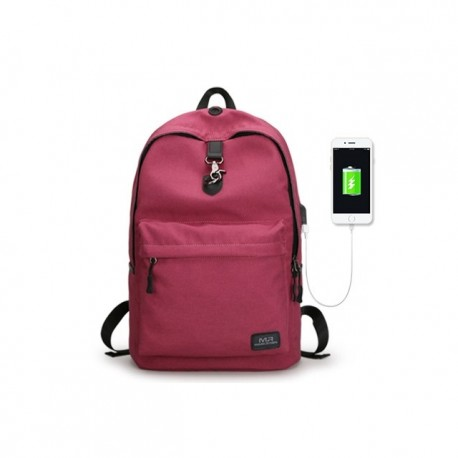 fc5b9aeb69aee Klasyczny modny i wygodny plecak damski w kolorze różowym wykonany z  wytrzymałego wodoodpornego materiału. Plecak