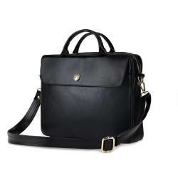 Skórzana torba na laptopa FL16 Sorrento czarna