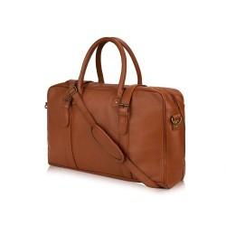 Stylowa męska torba weekendowa podróżna Solier S16