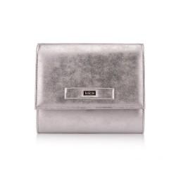 Damska kopertówka Felice F22 srebrna