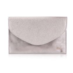 Damska kopertówka Felice F23 srebrna
