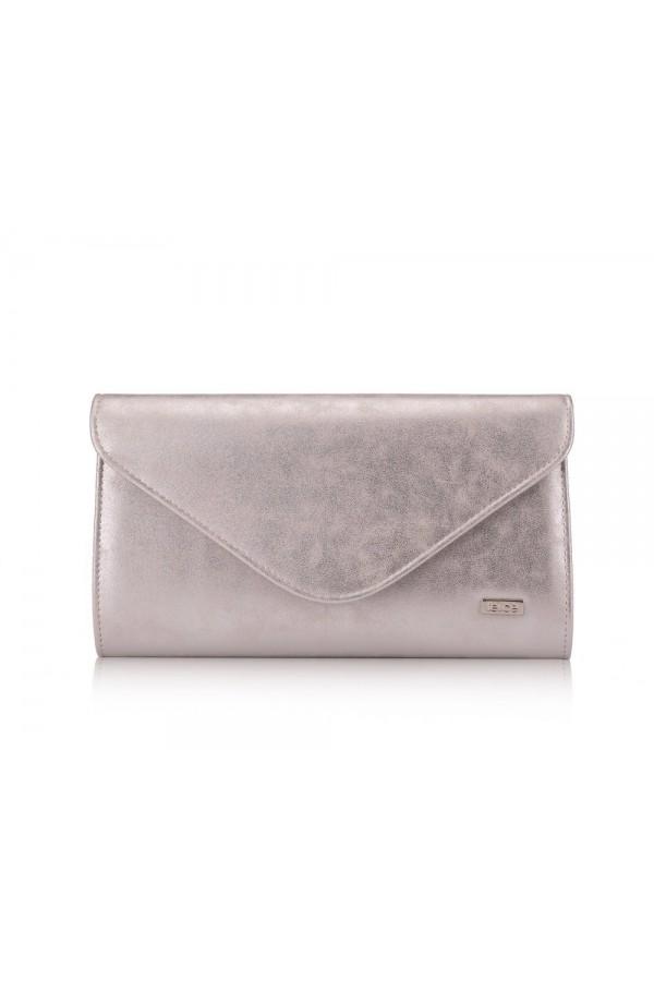 Damska kopertówka Felice F26 srebrna