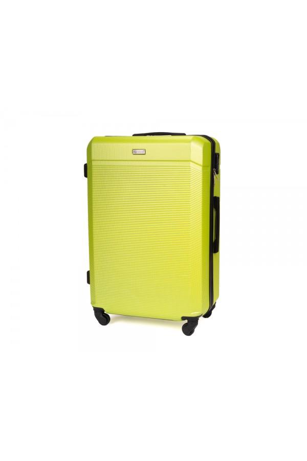 Walizka podróżna twarda średnia STL945 żółta