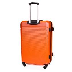 Walizka podróżna twarda średnia STL945 pomarańczowa