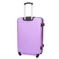 Walizka podróżna twarda średnia STL945 fioletowa