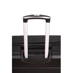 Walizka podróżna mała ABS STL945 czarna