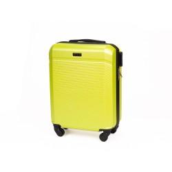 Walizka podróżna mała ABS STL945 żółta