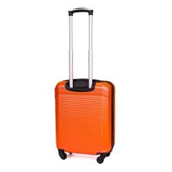 Walizka podróżna mała ABS STL945 pomarańczowa