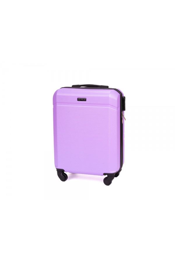 Walizka podróżna mała ABS STL945 fioletowa
